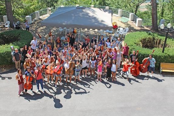 Il terzo anno con noi dell'orchestra dei giovani veneti